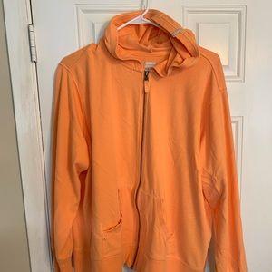NWOT Orange Columbia Zipped Hoodie